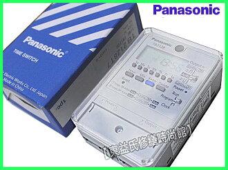 Panasonic國際牌TB2128T7一週型電子式定時器用熱水器.招牌燈【東益氏】 售TB358 中一電工 赤道30A