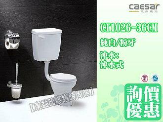 【東益氏】CAESAR凱撒衛浴 CT1026 兒童馬桶《管距36CM》另售單體馬桶 洗臉盆 小便斗 蹲便