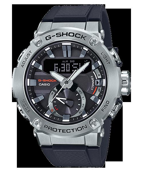 CASIO 卡西歐 GST-B200-1A G-SHOCK系列 G-STEEL藍牙雙顯運動錶 灰 黑 49mm 0