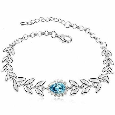 葉之符手鏈 施華洛世奇水晶元素 多色 奧地利水晶 手鍊 手環 專櫃 生日  項鍊 耳環 沂
