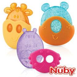 Nuby 冰膠固齒器 動物造型 (顏色款式隨機出貨)『121婦嬰用品館』