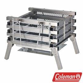 Coleman 不鏽鋼焚火台 CM-23233M 烤肉架 荷蘭鍋 露營