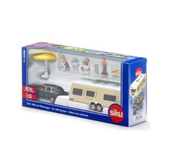 (卡司 正版現貨) 德國小汽車 SIKU 露營拖車 SU2542 兒童禮物 模型車 玩具車