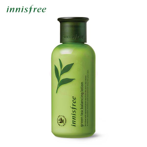 韓國 innisfree 綠茶水平衡保濕乳液(160ml)【庫奇小舖】
