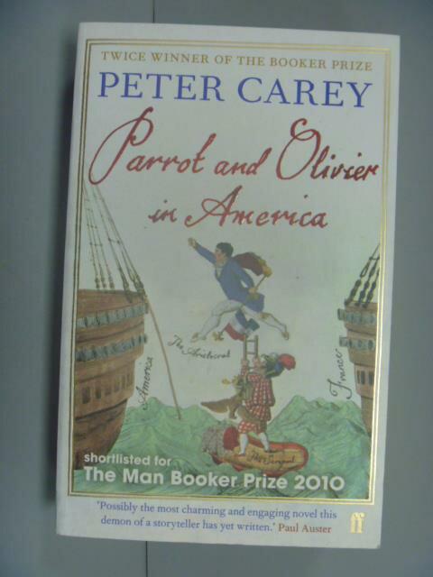 ~書寶 書T2/原文小說_NHU~Parrot and Olivier in Americ