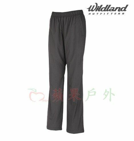 【【蘋果戶外】】荒野 W2319-93 Wildland 深灰 女 防風保暖長褲 彈性纖維/抗靜電/休閒長褲 防潑水 內刷毛