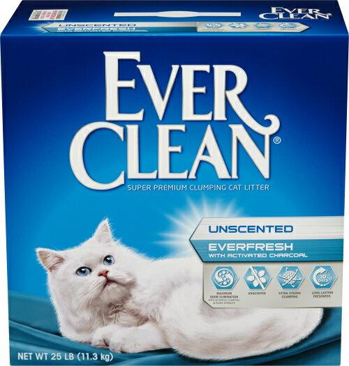 EverClean 雙重活性碳低過敏結塊砂