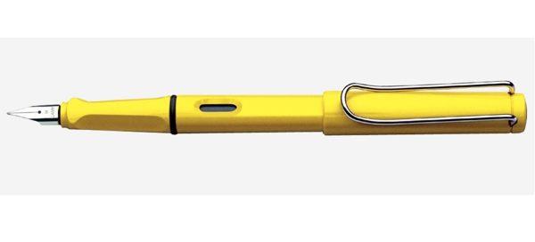 藍碧LAMY-AL Star恆星鋼筆-SAFARI狩獵者系列-18鋼筆-黃