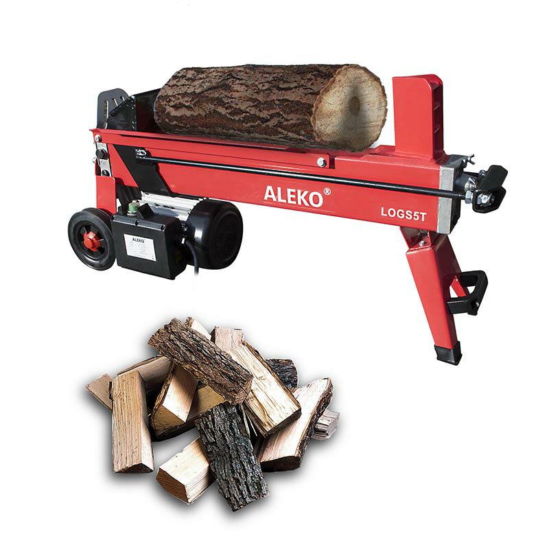 ALEKO 5-Ton Electric Log Splitter Wood Splitter Logsplitter 2