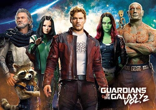 HPM0108-011Guardians of the Galaxy Vol 2 Movie 星際異攻隊2(2)拼圖108片