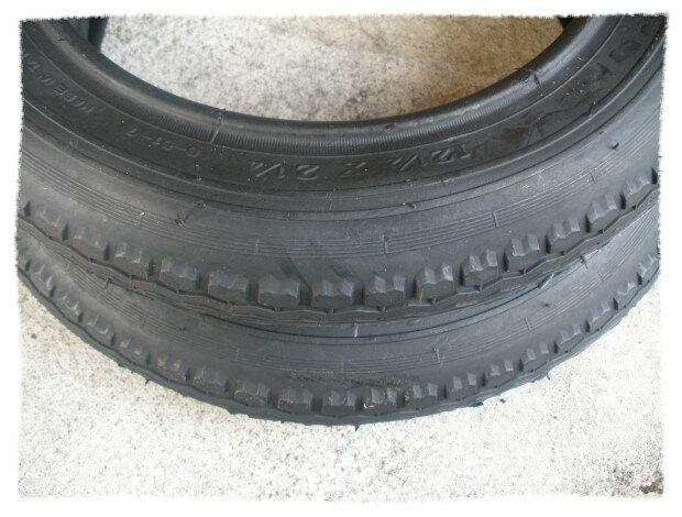正新輪胎12-1/2 x2-1/4(12吋輪胎 細紋).