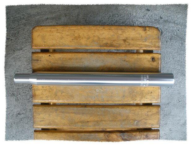 鋁合金 座管31.6mm   長35cm  銀色 ~意生自行車~