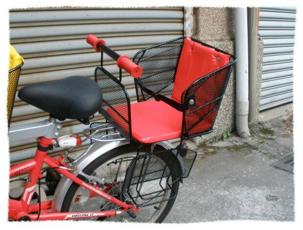 後安全童椅 兒童安全座椅鐵網型《意生自行車》