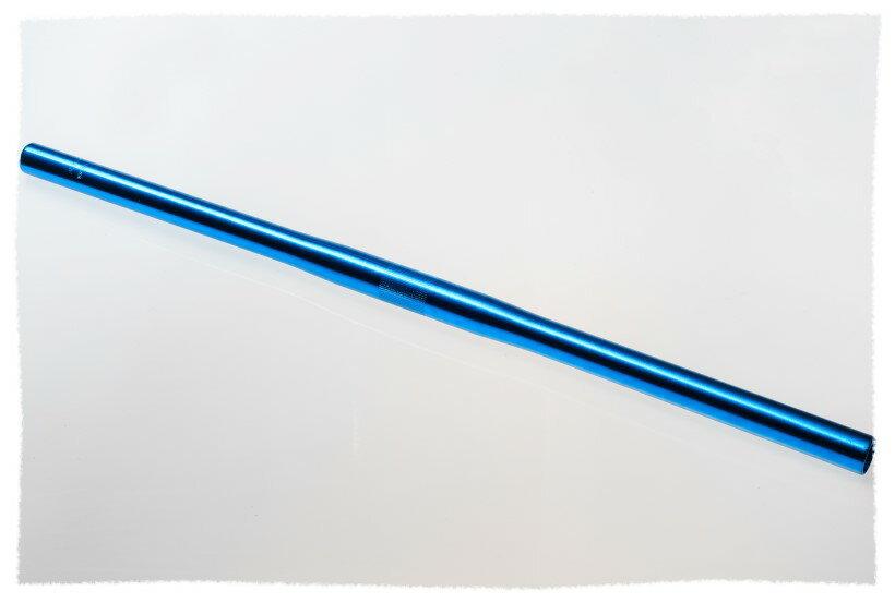 鋁合金 平手把 把手 握把 藍色《意生自行車》
