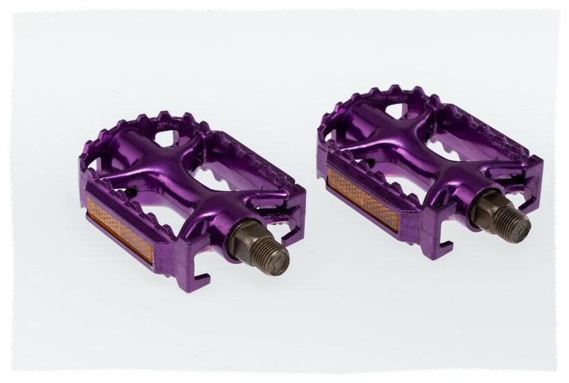 鋁合金踏板(紫色)《意生自行車》