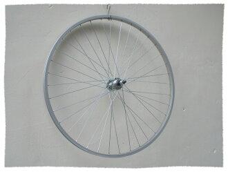 27吋 鎖牙式鋁合金輪框 後輪框《意生自行車》