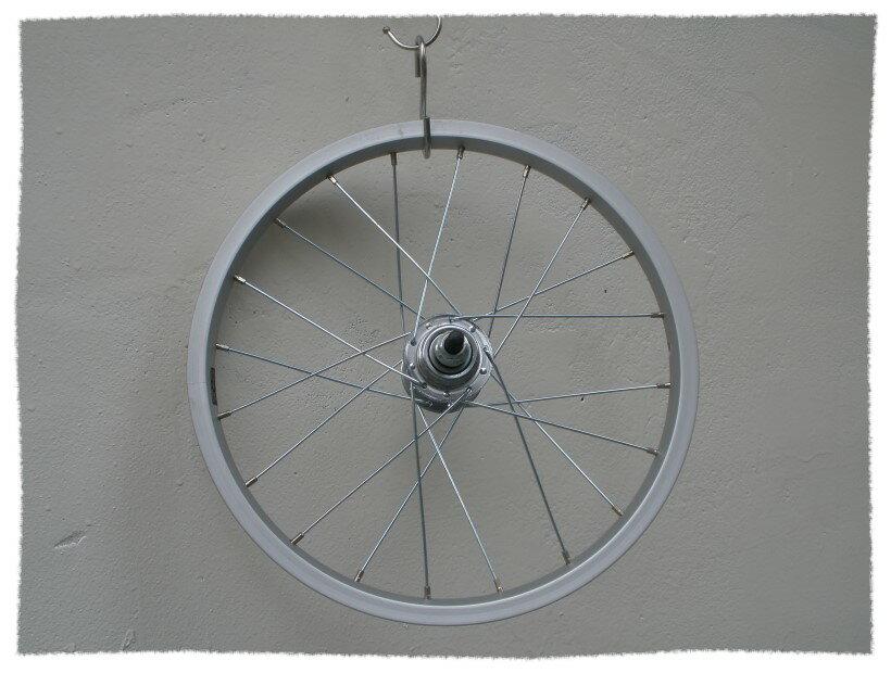 16吋 鋁合金輪圈 / 後輪框 ( V夾及風檔/鼓煞皆可用)《單速車用》