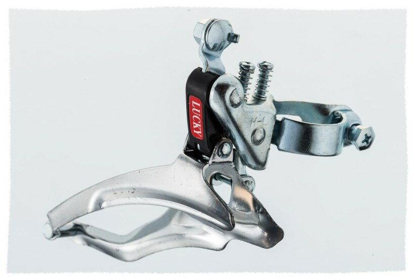 經濟型 非定位式 前變速器(中變) 6速/7速可用《意生自行車》