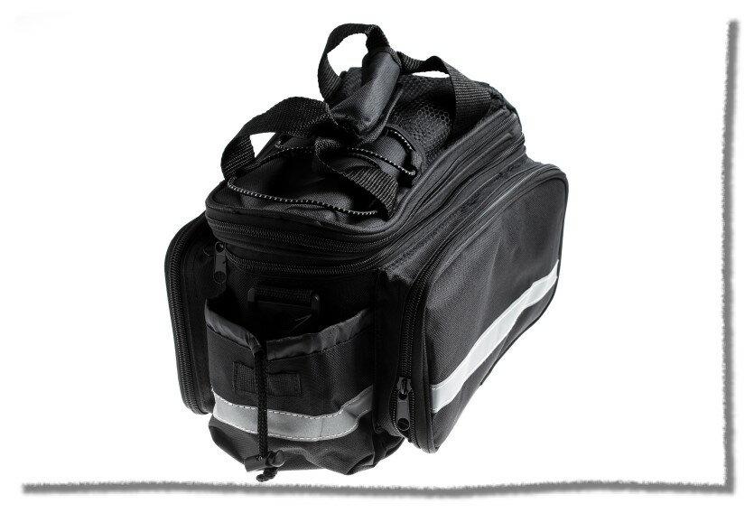 後架反光大馬鞍包 兩側可擴充 附肩帶防水罩《意生自行車》