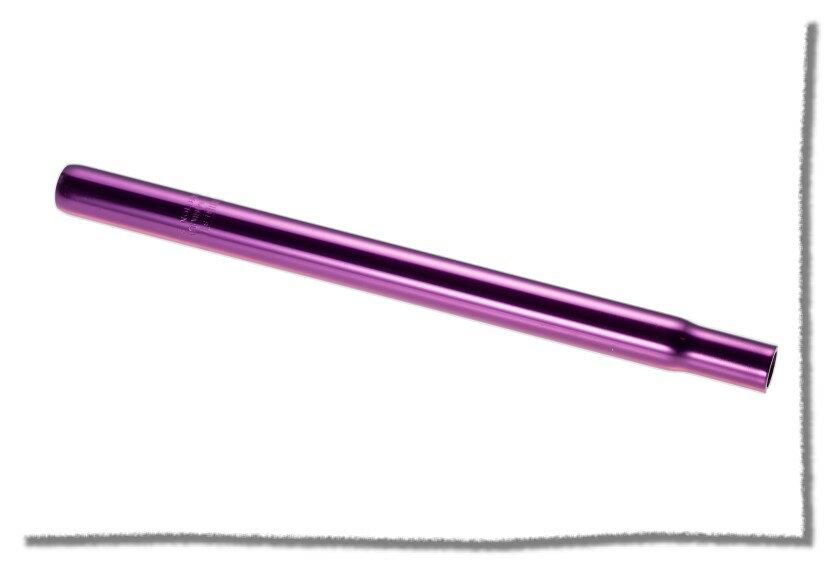 鋁合金 座管25.4mm 適合使用 / 長35cm / 紫色 《意生自行車》