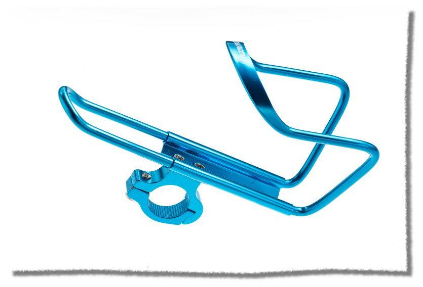 鋁合金水壺架-車把車架兩用款   藍色《意生自行車》