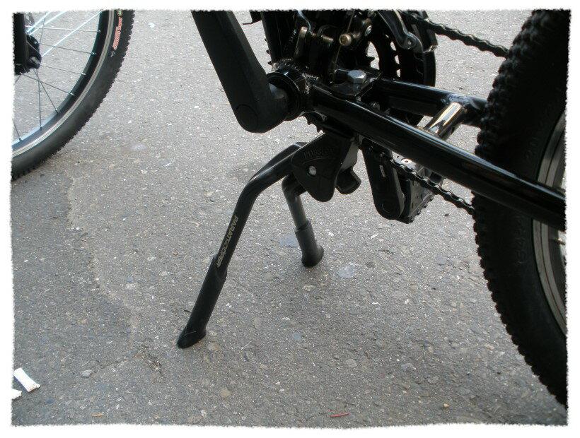 雙腳可調穩定型中柱 登山車 公路車24-29吋適用 附上蓋《意生自行車》