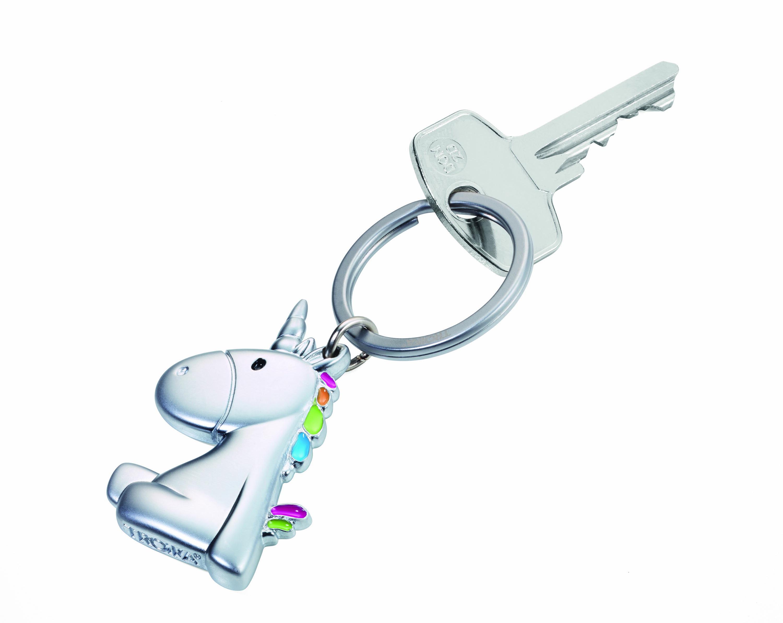 TROIKA 彩色獨角獸鑰匙圈