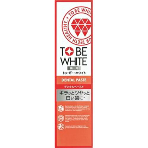 TO BE WHITE 瞬白清新牙膏100g