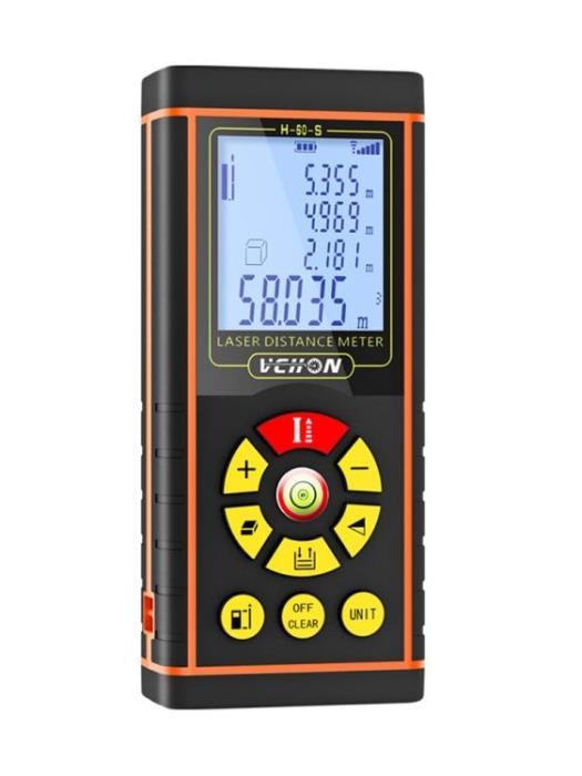 偉創激光測距儀高精度紅外線手持距離測量儀量房儀電子尺激光尺