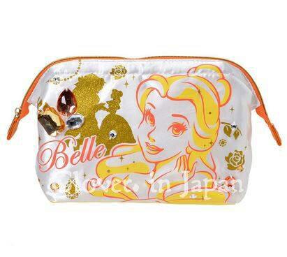 現貨 迪士尼商店 公主系列 化妝包 ( 灰姑娘 / 貝兒 )