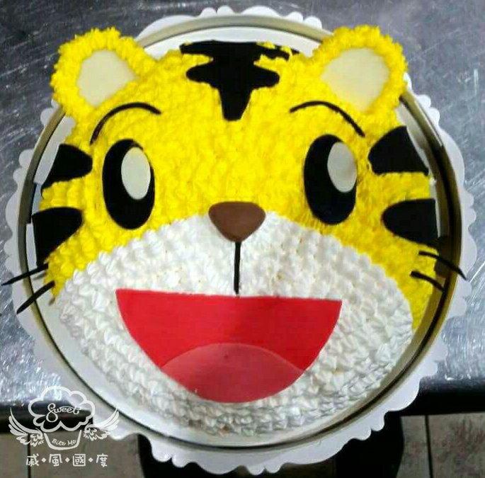 【戚風國度bite me-造型蛋糕】小朋友最愛的巧虎~立體造型蛋糕~8吋、10吋生日蛋糕~可選擇巧克力蛋糕體或香草蛋糕體~