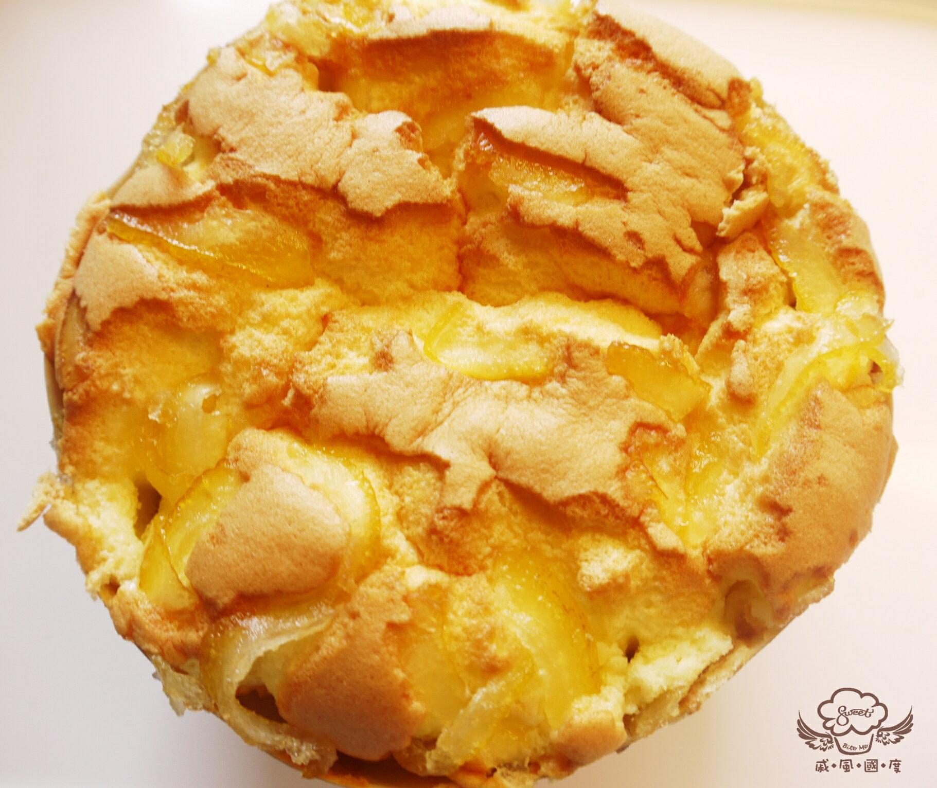 【戚風國度bite me】日本柚戚風,古早蛋糕的韻味,加上創新的新滋味,每一口都吃的到香柚的酸甜幸福感![彌月、團購、伴手禮首選]