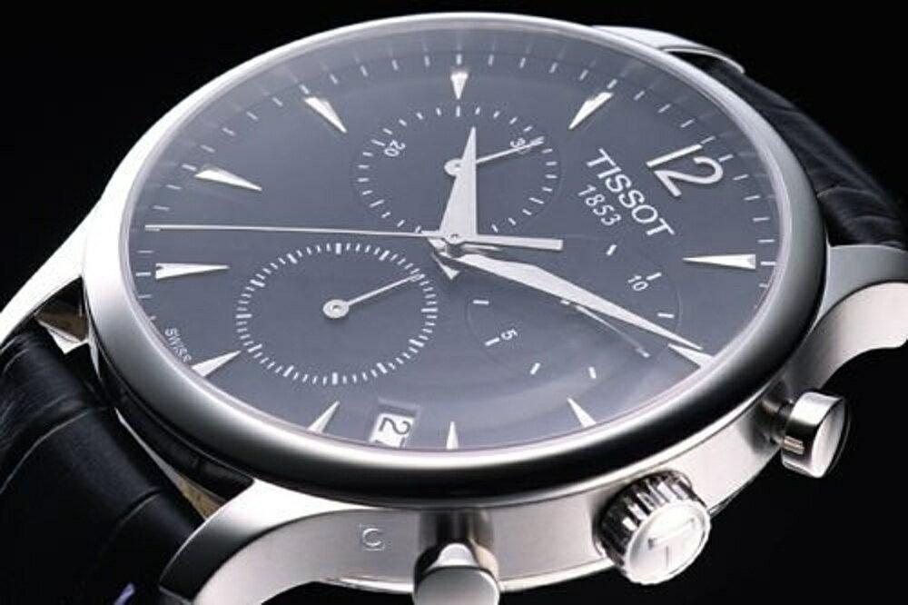 T0636171605700 天梭錶 TISSOT T-TRADITION 極簡雅士 計時腕錶 1