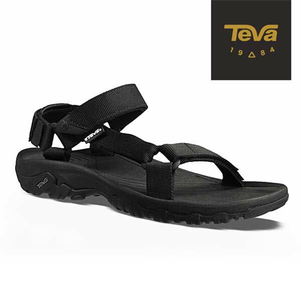 《台南悠活运动家》TEVA 男 Hurricane XLT 水陆机能凉鞋4156BLK 黑