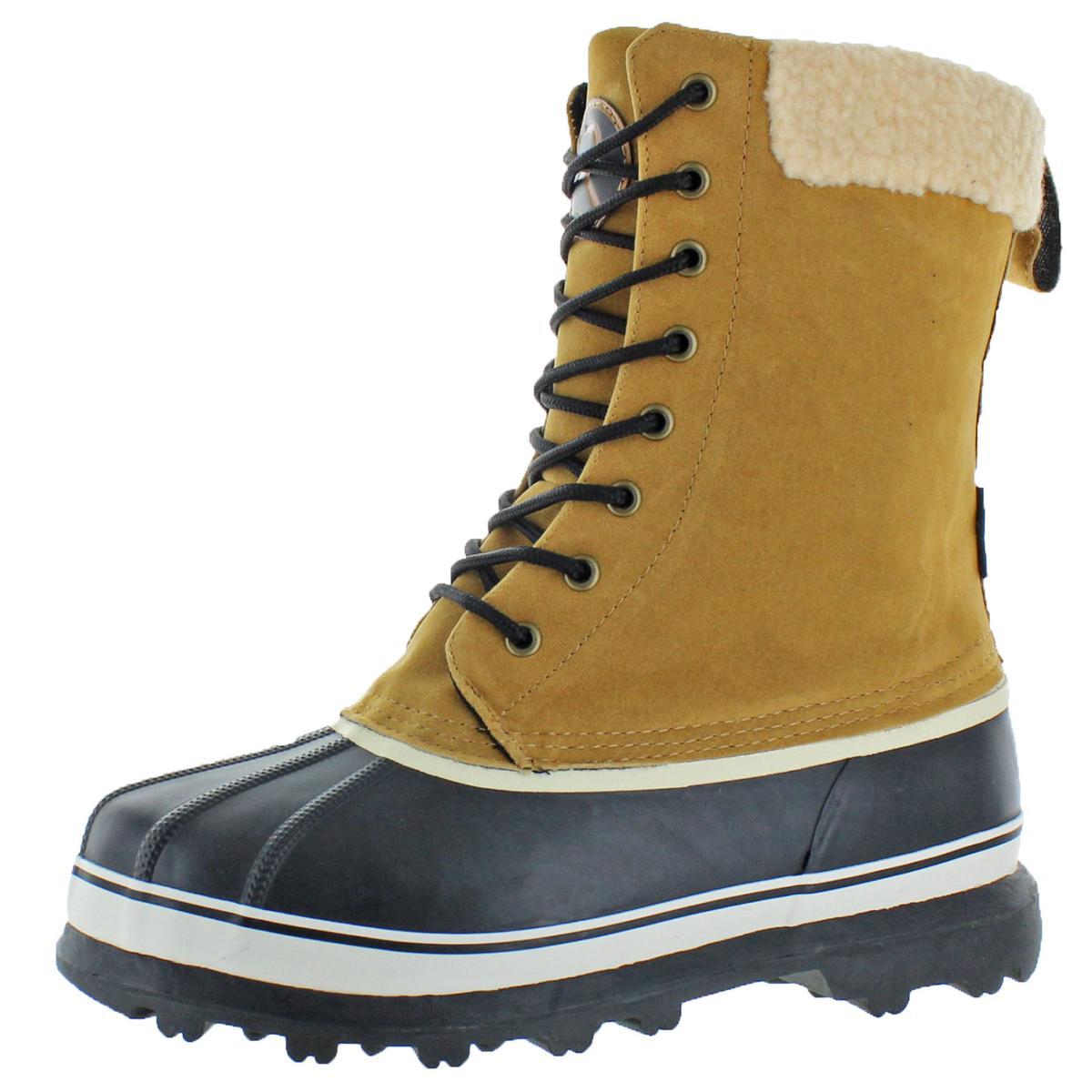 dbd17fcebbb Revelstoke Men's Overland Waterproof Sherpa Snow Duck Boots