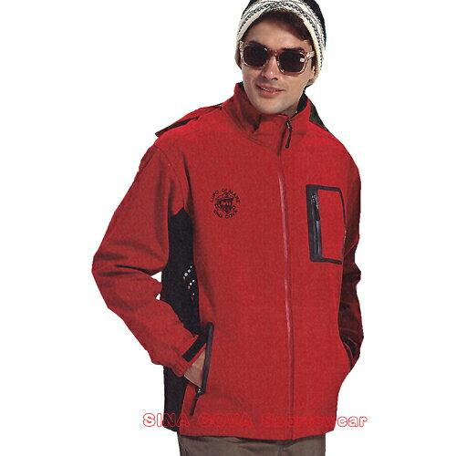 【義大利 SINA COVA】男女防水透氣功能性運動休閒外套(紅#S8300A1) - 限時優惠好康折扣