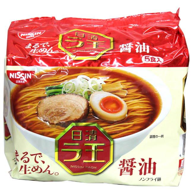 日清麵王5食包麵-醬油