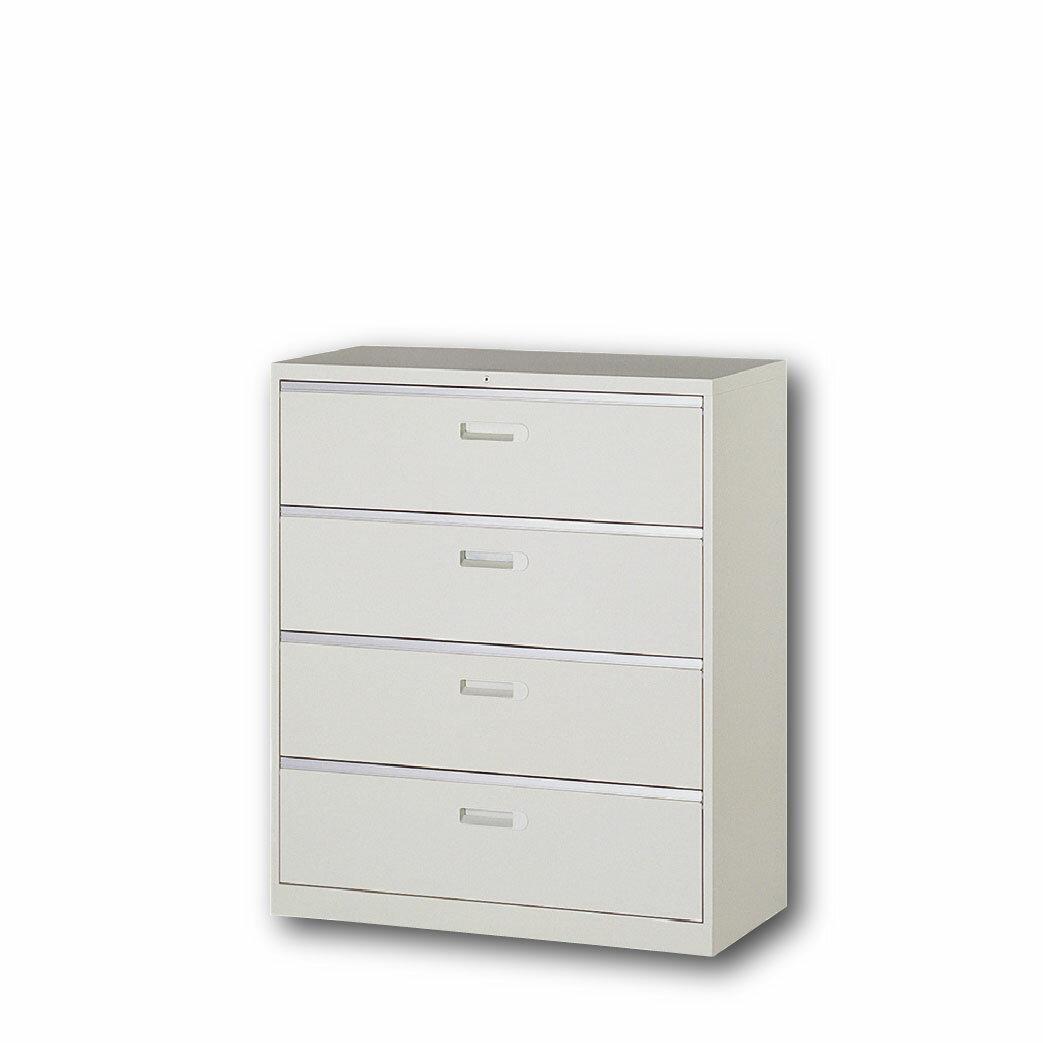 【哇哇蛙】理想櫃/一般抽屜四大層式 UD-4A 辦公 學校 收納 文件報表 置物櫃 分類櫃 隔間櫃 鐵櫃 資料櫃