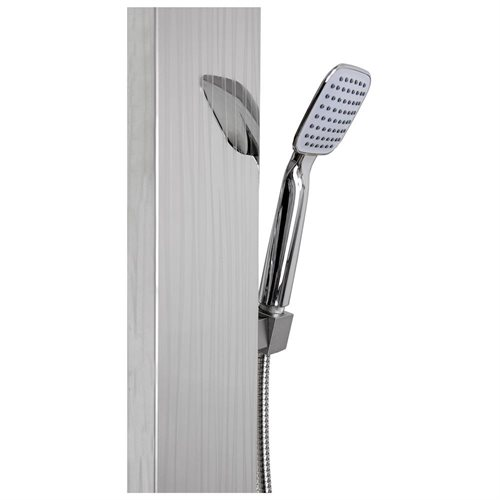 AKDY 48-inch Stainless Steel Shower Wall Panel System with Rainfall Shower AK3315-37 3