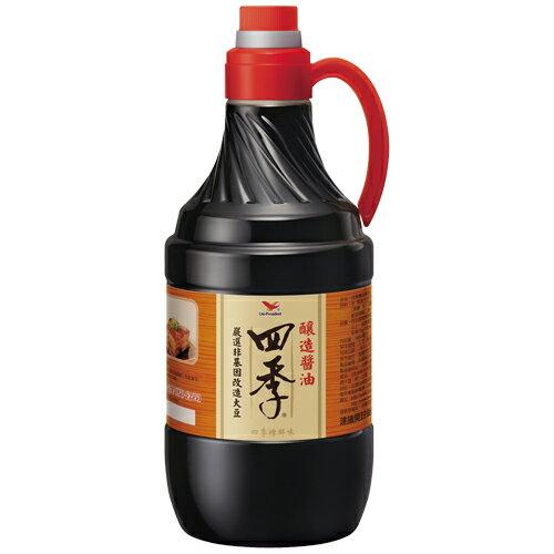 統一四季釀造醬油1600ML【愛買】