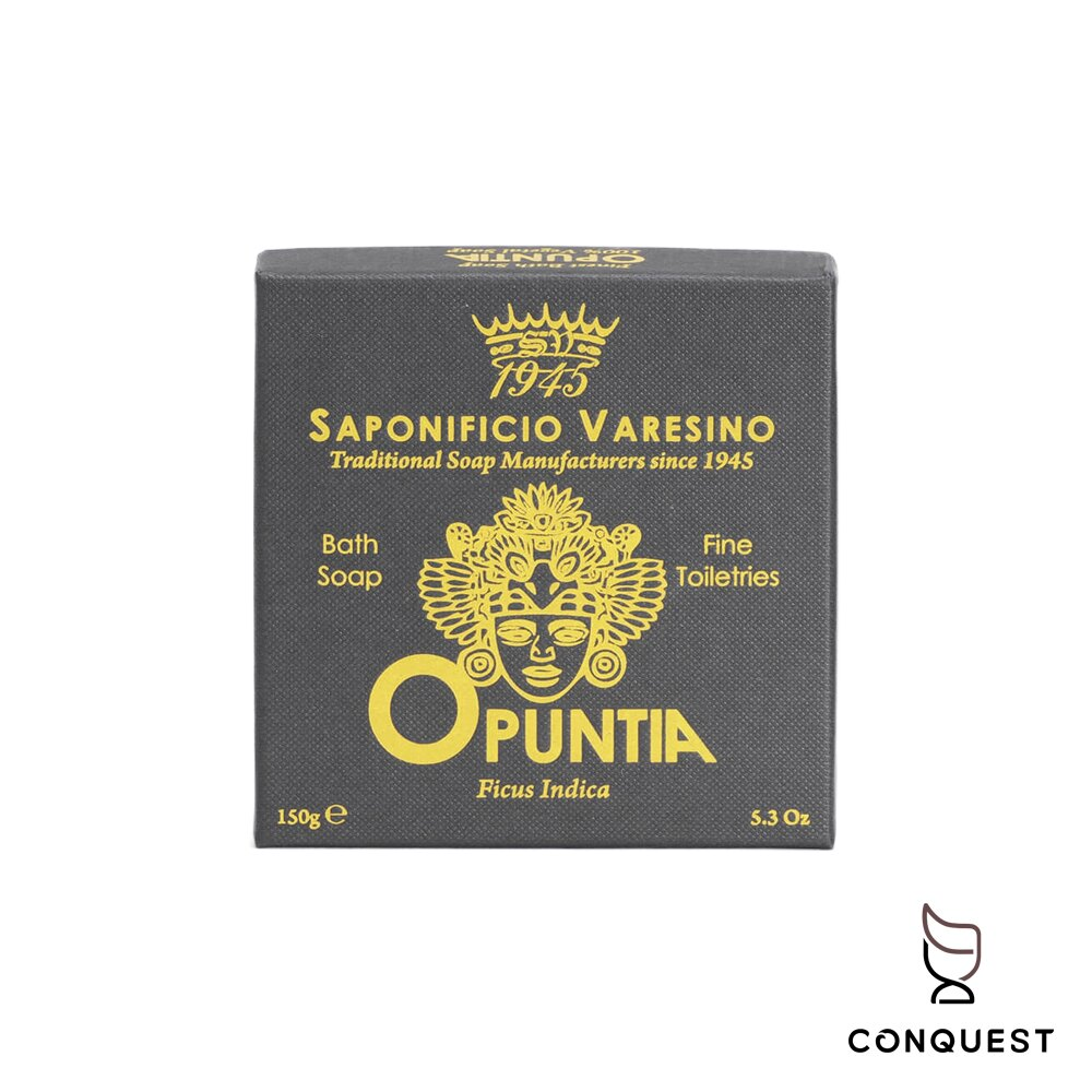 【 CONQUEST 】義大利 Saponificio Varesino 黃色沐浴皂 香皂 肥皂 沐浴香氛皂 草本古龍水