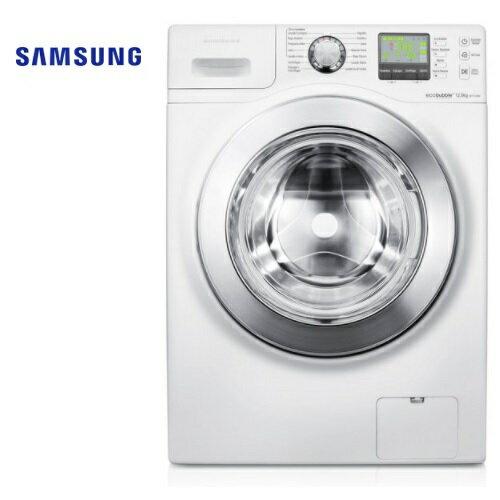 集雅社影音家電旗艦館:含基本安裝SamsungWF1124XBCXTW三星12公斤3D魔力泡泡淨滾筒洗衣機公司貨