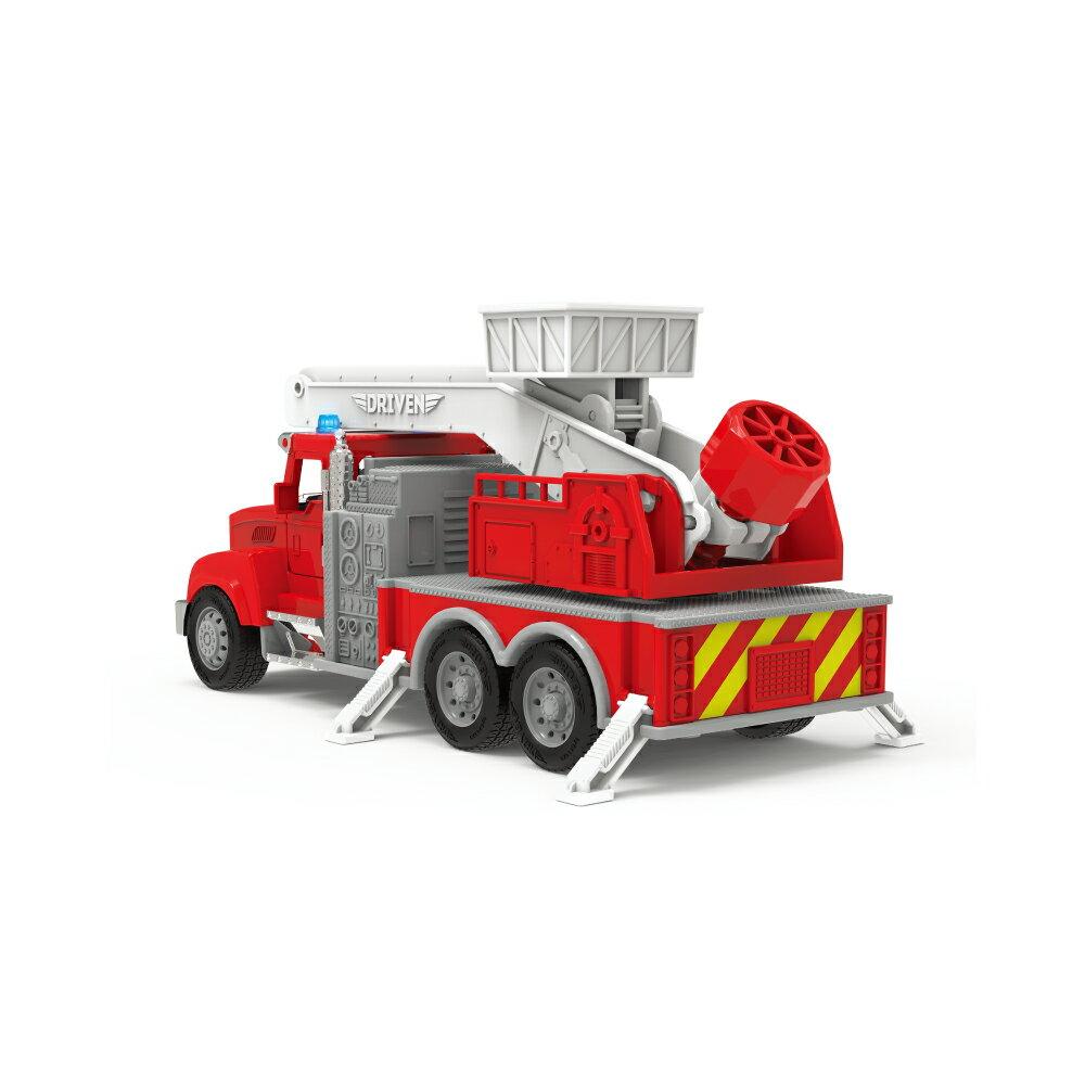 【淘氣寶寶】 美國 B.Toys 感統玩具 迷你雲梯車_Driven系列