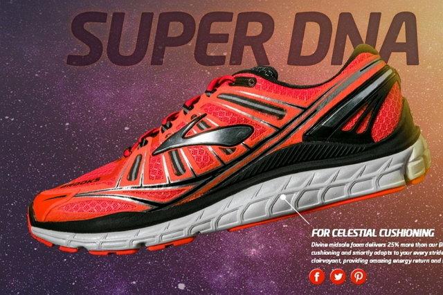 [陽光樂活]BROOKS (男) M.Transcend 運動鞋 美國科技 頂級支撐輕量慢跑鞋-BK1101571D908