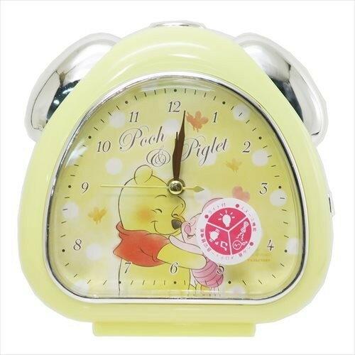 X射線【C063444】小熊維尼WinniethePooh鬧鐘-圓點,時鐘掛鐘壁鐘座鐘鬧鐘鐘錶手錶潛水錶