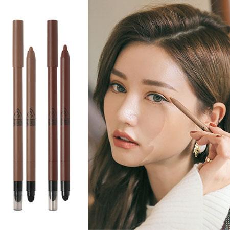 韓國 3CE MOOD RECIPE 眼線膠筆 0.4g 眼線筆 大地色 土色 乾燥玫瑰 3CONCEPT EYES【B062621】