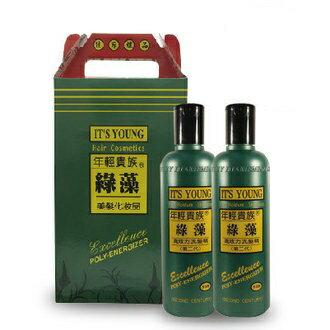 年輕貴族綠藻 高效力洗髮精第二代 500ml X2【禮盒組合】