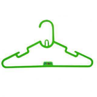 『121婦嬰用品館』PUKU 彩虹糖果衣架6入 - 綠 0