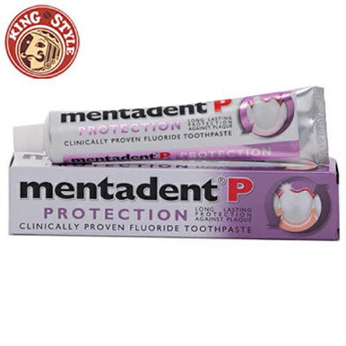 【Mentadent】美達淨牙膏 除齒斑含氟牙膏 100ml
