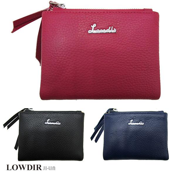 LD-275-4【LOWDIR 露蒂兒】真皮氣質短夾 (三色)